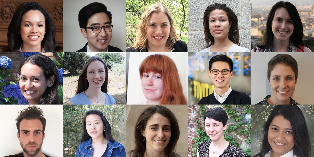 2015 CCL/Mellon Foundation Seminar student headshots